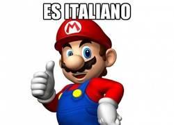 Enlace a Super Mario, el políglota