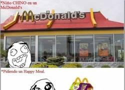 Enlace a Cuando un niño chino va a un McDonalds