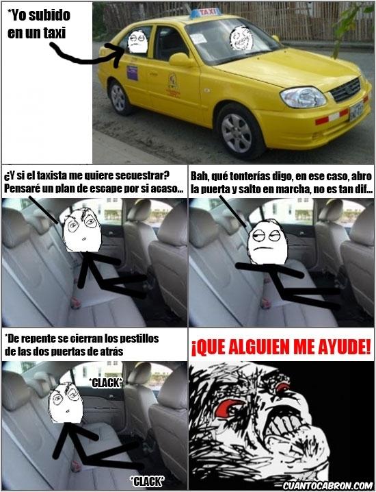 Inglip - La paranoia del taxi