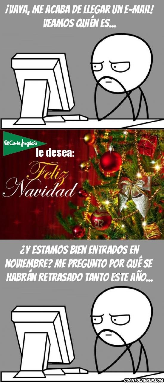 Adelantados,El Corte Inglés,Felicitacion,Navidad,Navideña,¡ESPERAD A QUE LLEGUE NAVIDAD!