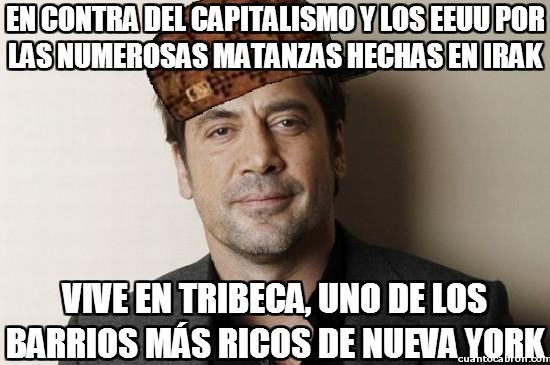Meme_otros - Scumbag Javier Bardem