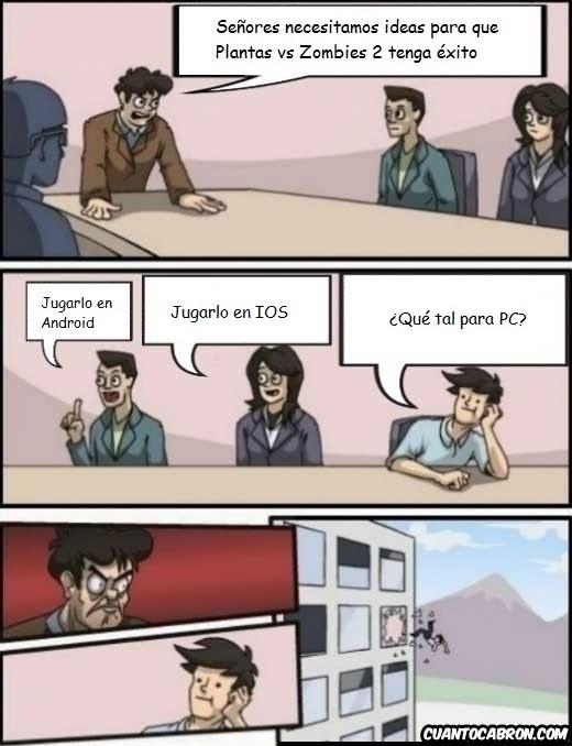 Otros - PopCap Games también se ha olvidado del PC