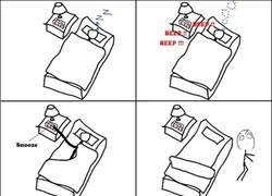 Enlace a Al olvidar desactivar la alarma