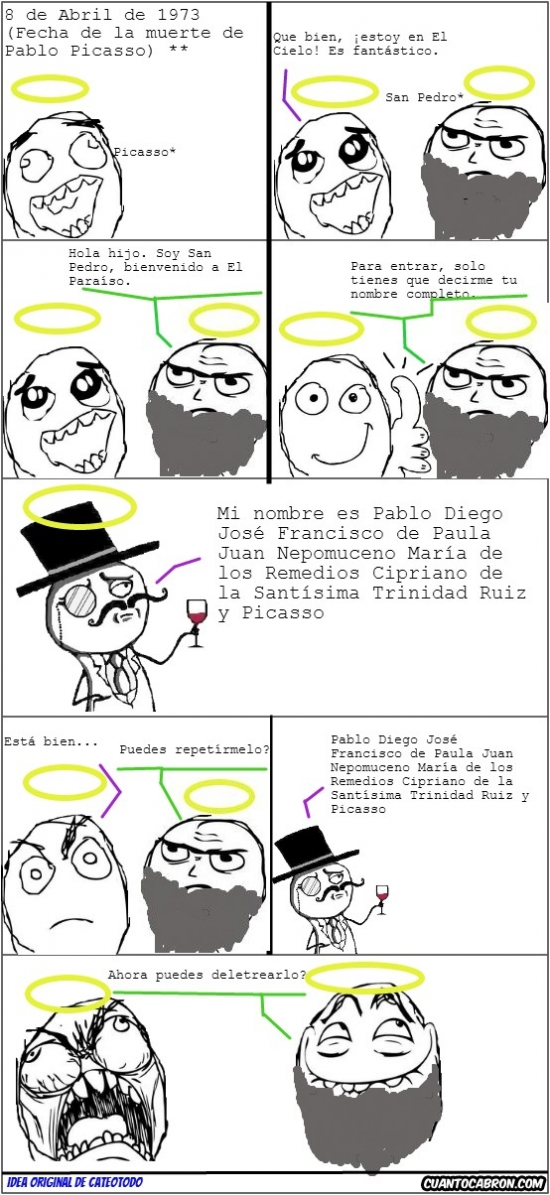 nombre largo,pablo picasso,San Pedro,trol