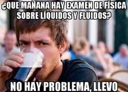 Enlace a Examen de líquidos y fluidos