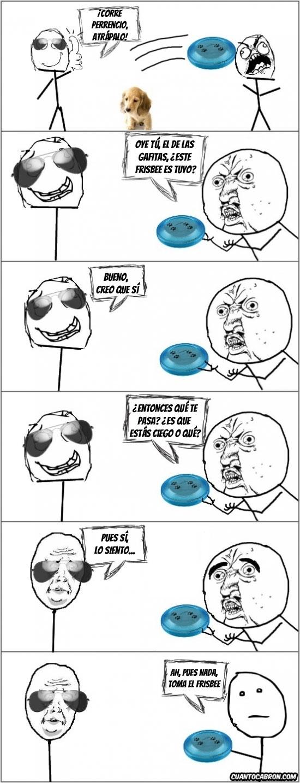 Pokerface - El frisbee