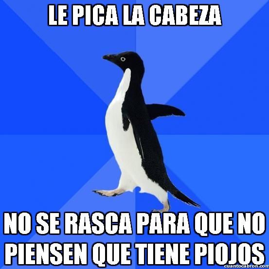 Awkward_penguin - Rascarse es malo