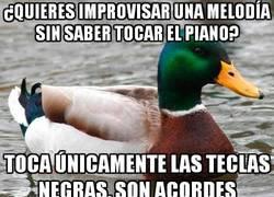 Enlace a Truquito para vacilar con el piano sin tener ni idea