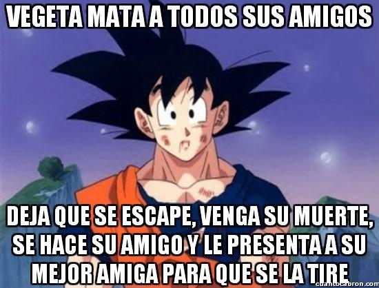 Son_goku - ¡Yo también quiero un amigo como Goku!