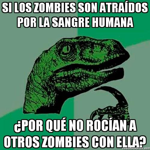 Philosoraptor - La solución definitiva al apocalipsis zombie