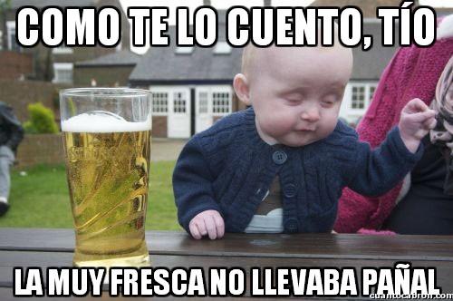Bebe_borracho - Si es que las niñas de hoy en día...