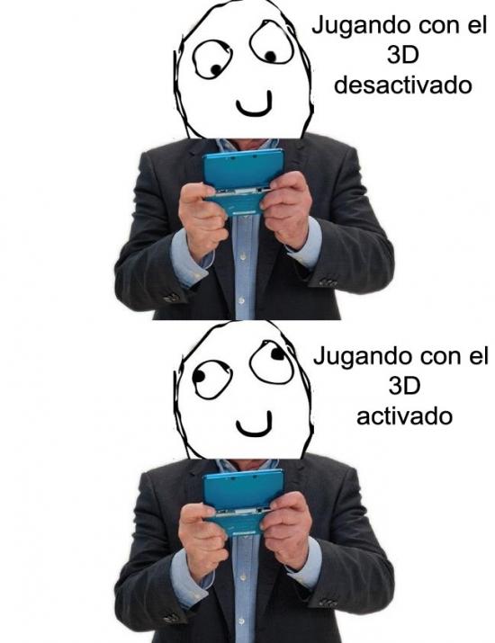 Otros - Problemas al jugar con la Nintendo 3DS