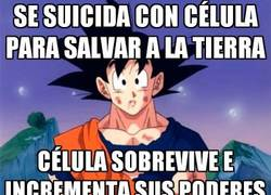 Enlace a Bad luck Goku