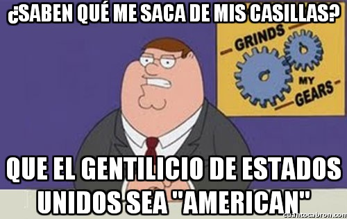 Peter_griffin - Malditos egoístas ignorantes