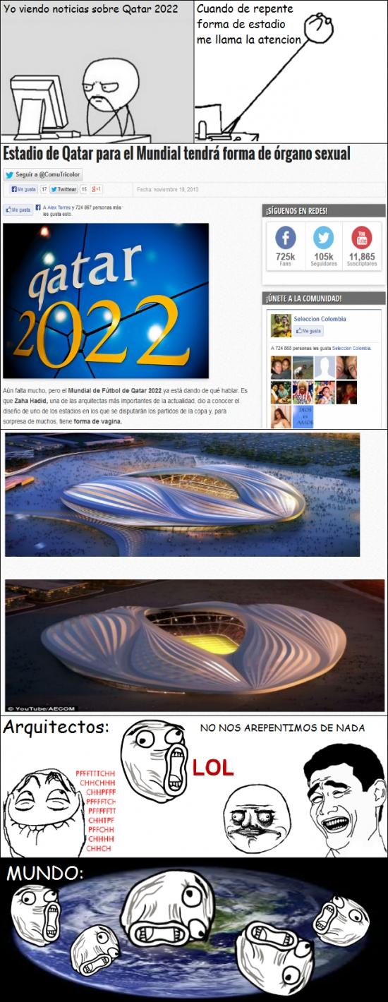 Lol - Estadio para el Mundial de Qatar 2022