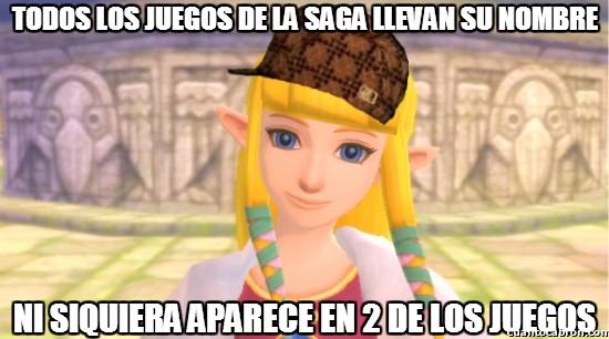 Meme_otros - Las incongruencias de The Legend of Zelda