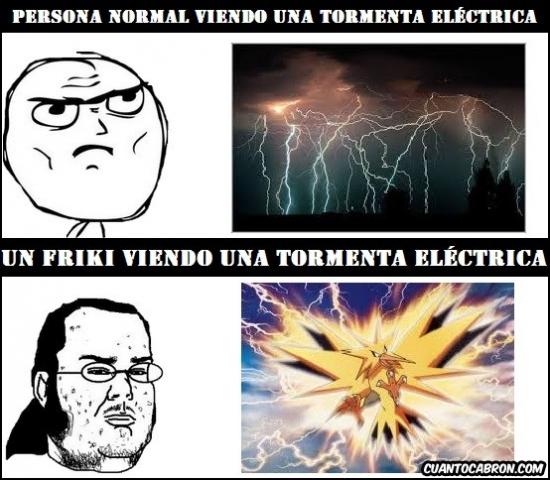 Friki - Tormenta eléctrica