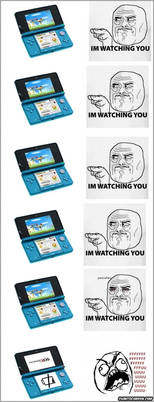 Im_watching_you - La batería de la 3DS
