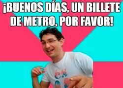 Enlace a Chistacos en el metro