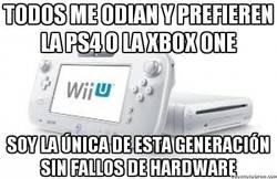 Enlace a Os podéis reir de la Wii U tanto como queráis, pero por lo menos...