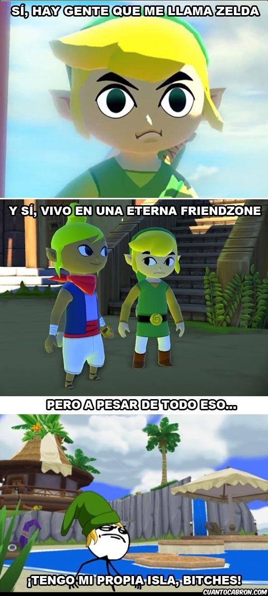 friendzone,Isla de Link,Isla de Quien,Link,tema de la semana,temaislas,the legend of zelda,wind waker HD