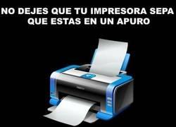 Enlace a Las terribles impresoras