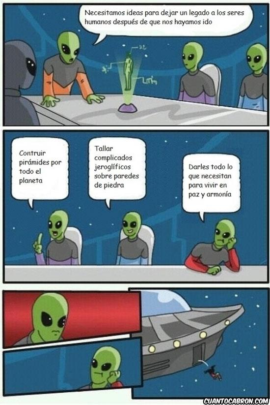Otros - Las brillantes ideas alienígenas