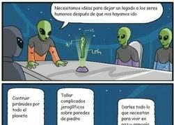 Enlace a Las brillantes ideas alienígenas