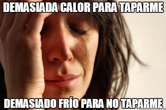 First_world_problems - Dilema térmico, ¡así no hay quién duerma!