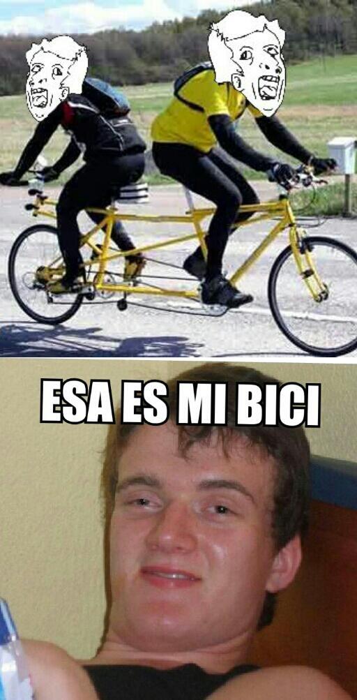 Colega_fumado - Nuevo modelo de bici