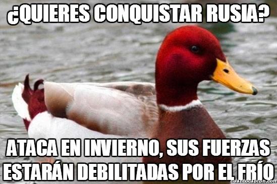 Pato_mal_consejero - Bad advice duck, más rojo que nunca