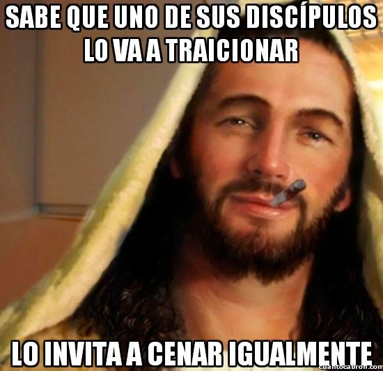 Good_guy_jesus - ¡Eh Judas, sin rencor!