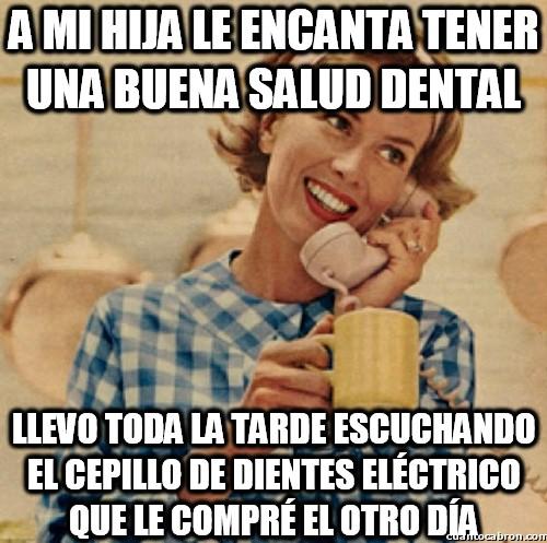 Madre_inocente - La buena salud dental de mi hija