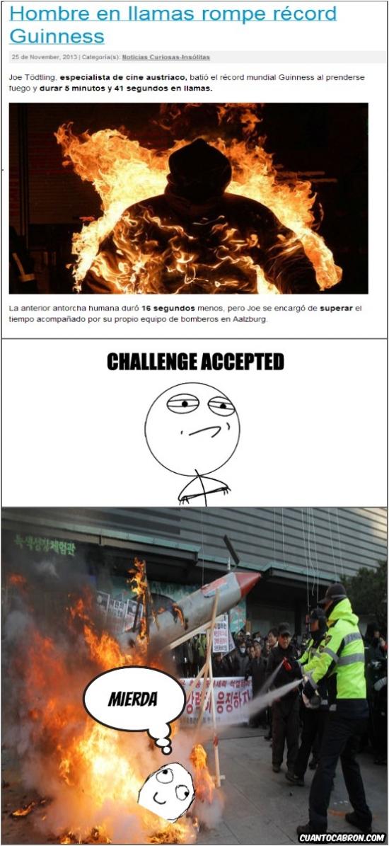 Challenge_accepted - No creo que haya sido una buena idea