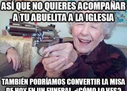 Enlace a ¡Vamos a la iglesia cuando tú quieras, querida abuelita!