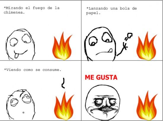 fuego,me gusta,papel,quemar
