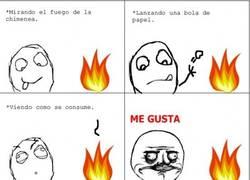 Enlace a Me gusta el fuego