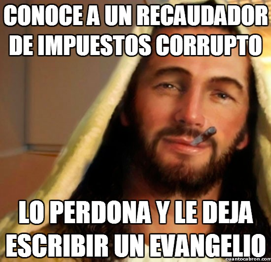 Good_guy_jesus - Pues si pasa por España encuentra gente suficiente para escribir una enciclopedia sobre corrupción