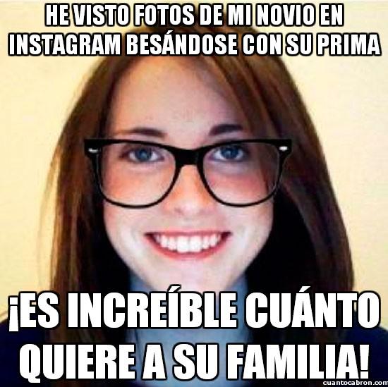 Novia_confiada - La familia es lo primero