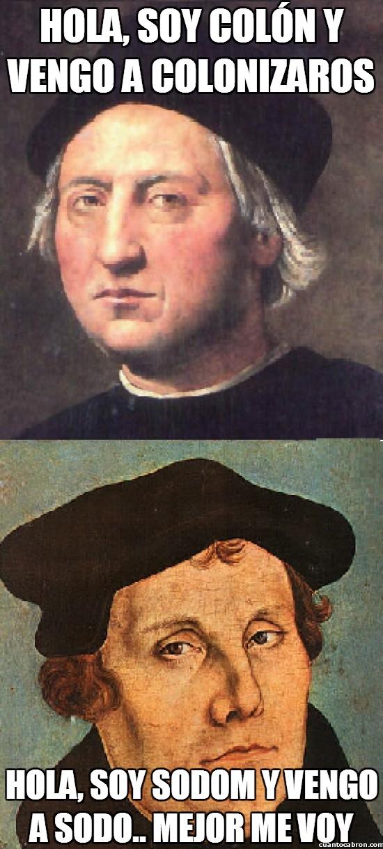 Meme_otros - Si Colón coloniza...