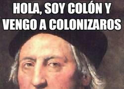 Enlace a Si Colón coloniza...