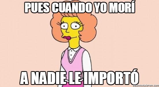 Meme_otros - ¿Maude Flanders? Me suena de algo, pero ahora no caigo...