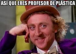 Enlace a Pobres profes de plástica...