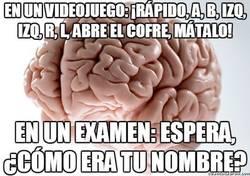 Enlace a El cerebro en videojuegos y exámenes