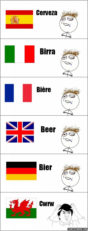 Jackie_chan - ¿Cómo se pronuncia cerveza en galés?