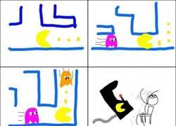 Enlace a Escapa si puedes, Pacman
