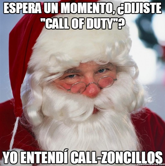 call of duty,calzoncillos,navidad,papa noel,regalos,santa troll