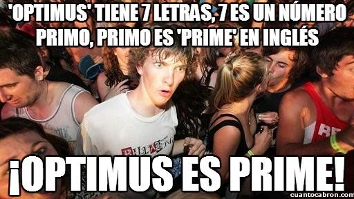Momento_lucidez - El significado oculto detrás de Optimus Prime