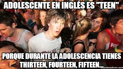 Momento_lucidez - Adolescente en inglés