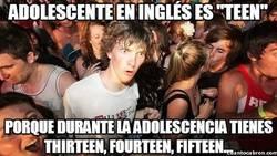Enlace a Adolescente en inglés